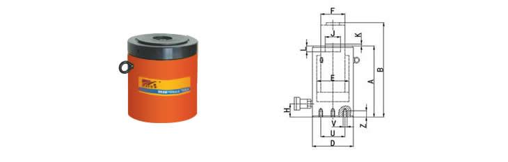 自锁式液压油缸sloc系列
